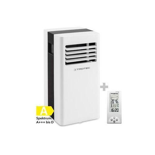 Trotec Klimatyzator przenośny pac 2100 x + termohigrometr stacja pogodowa bz06 (4052138022412)