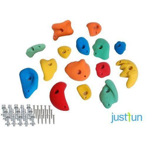 Kamienie do wspinaczki s+m+l (15 sztuk) marki Just fun