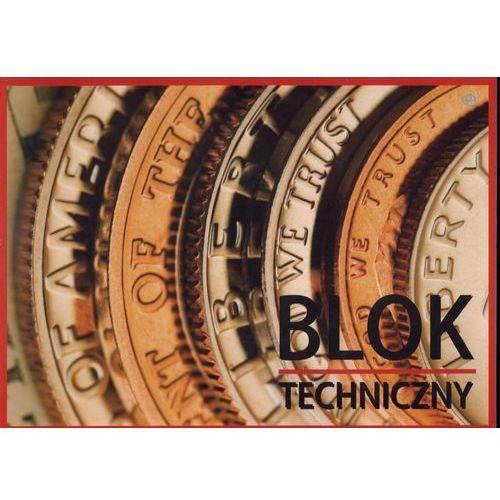 Blok techniczny kartonów białych A4 INTERDRUK (5902277070005)