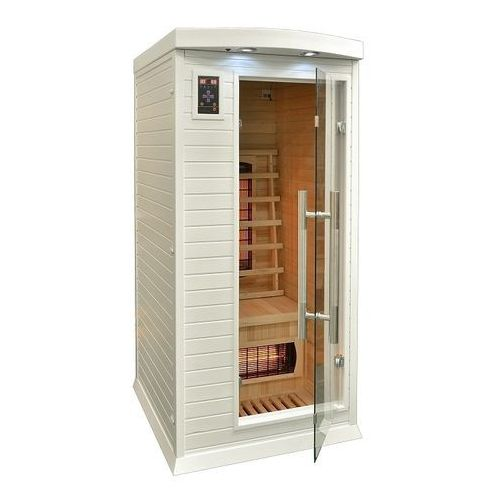 Home&garden Sauna infrared + koloroterapia dh1 gh white (5902425322437)