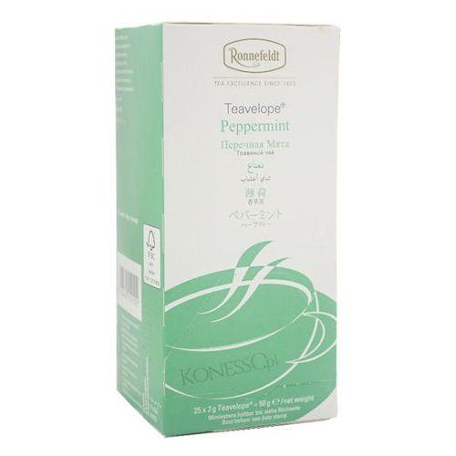 Ronnefeldt Ziołowa herbata  teavelope peppermint 25x2g