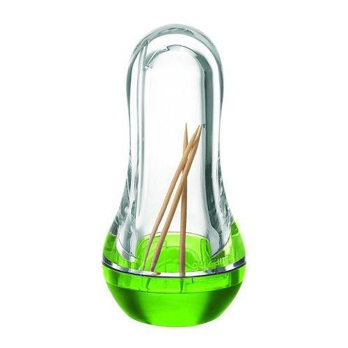 Guzzini - pojemnik na wykałaczki - Feeling - zielony - zielony