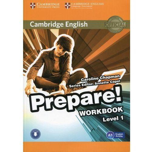 Cambridge English Prepare! Level 1 Workbook with Audio, oprawa miękka