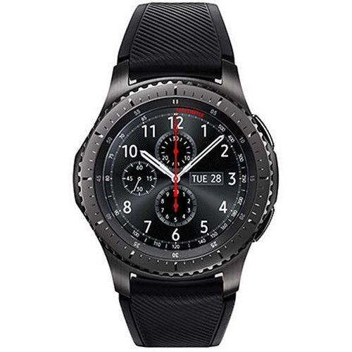 Samsung gear s3 sm-r760 frontier bluetooth inteligentny zegarek - czarny
