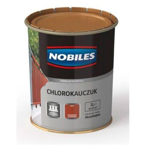Podkład chlorokauczuk czerwony tlenkowy 5l. marki Nobiles