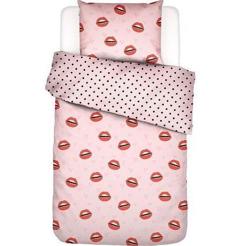 Covers & co Pościel kiss my sass 135 x 200 cm z poszewką na poduszkę 80 x 80 cm