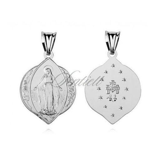 Srebrny medalik pr.925 Matka Boska Nieustającej Pomocy - M121