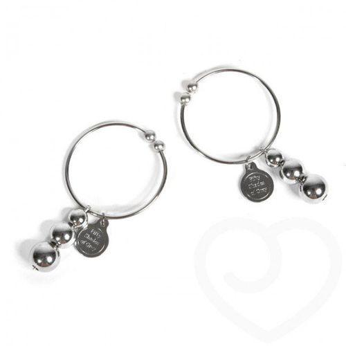 pleasure pain nipple rings zaciski na sutki metalowe wyprodukowany przez Fifty shades of grey