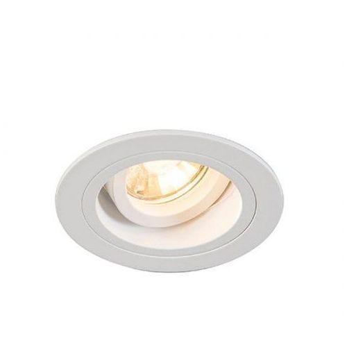 Oczko Zuma Line Chuck Dl 92699 Round oprawa sufitowa downlight 1x50W GU10 biały, 1717-008-200-000-0002