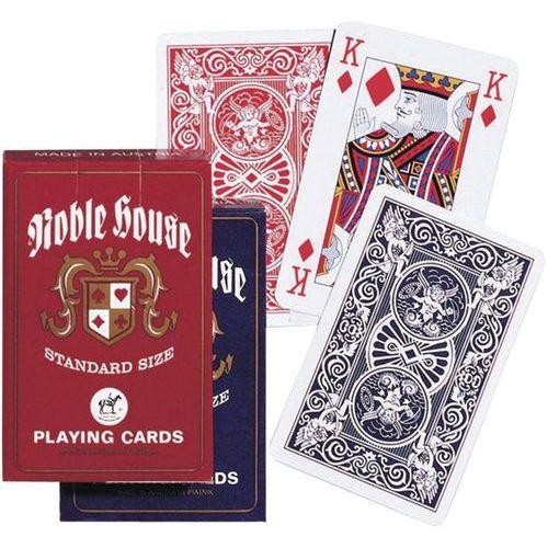 Karty noble house  /czerwony rewers/ marki Piatnik