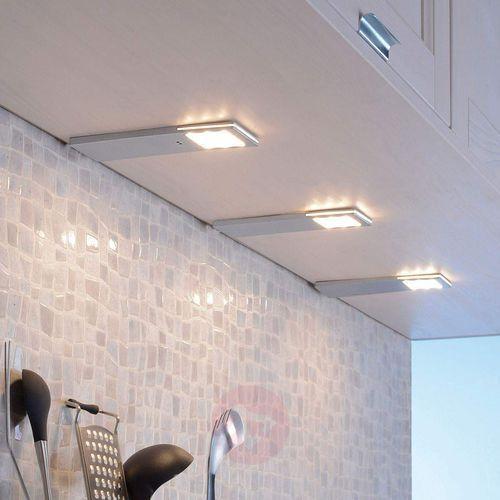 Paul Neuhaus HELENA Oświetlenie podszafkowe LED Aluminium, 1-punktowy - Nowoczesny - Obszar wewnętrzny - HELENA - Czas dostawy: od 2-4 dni roboczych (4012248291115)