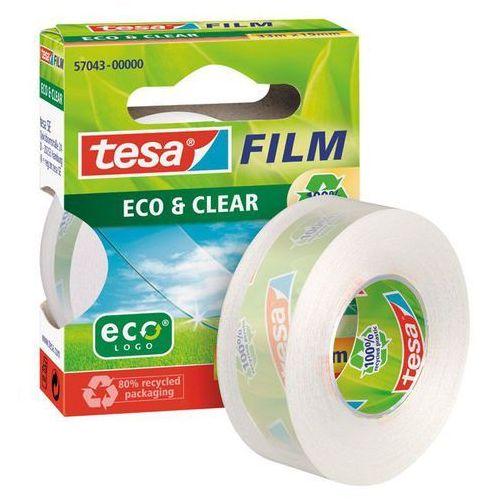 Tesa Taśma klejąca film clear 19mmx33m transparentna 57043