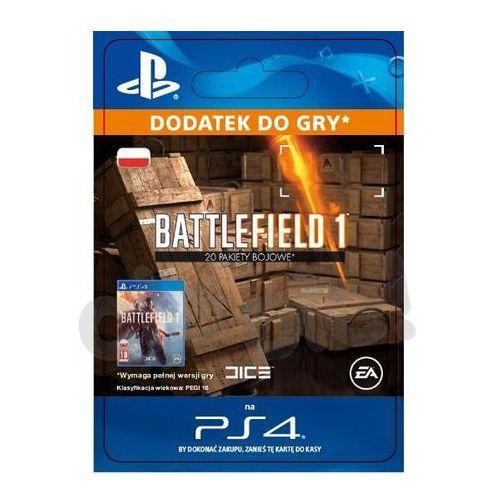 Sony Battlefield 1 - 20 pakiety bojowe [kod aktywacyjny]