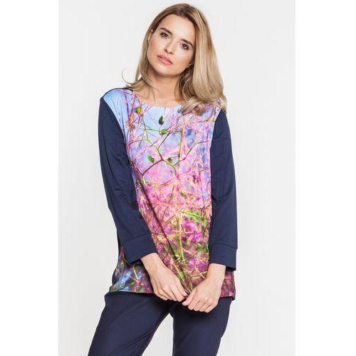 Bluzka z nadrukiem - marki Duet woman