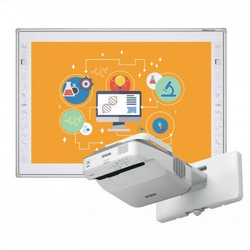 Tablica truboard r3-800+ projektor ultrashort epson eb-670 z uchwytem marki Interwrite