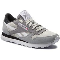 Buty - cl leather mccs cm9612 marble/iron/gravel/brown marki Reebok