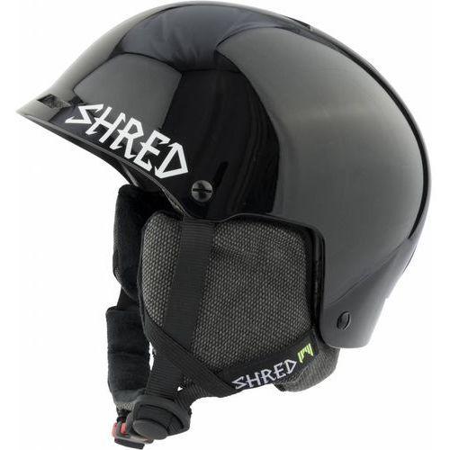 Shred half brain d-lux blackout - kask snowboard rolki rower r. 57-61 cm m/xl