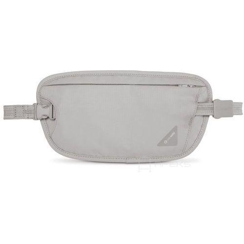 Pacsafe Coversafe X100 saszetka podróżna biodrowa / etui podróżne / szara - Neutral Grey