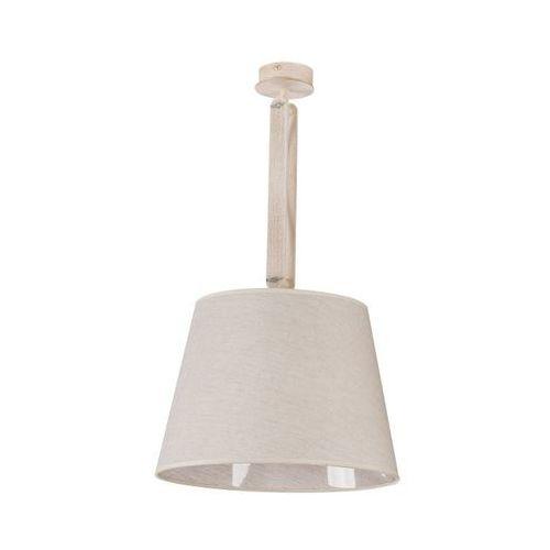 Plafon LAMPA sufitowa KAFFE 1 18309 Sigma OPRAWA abażurowa regulowana drewno beżowy (5907555385260)