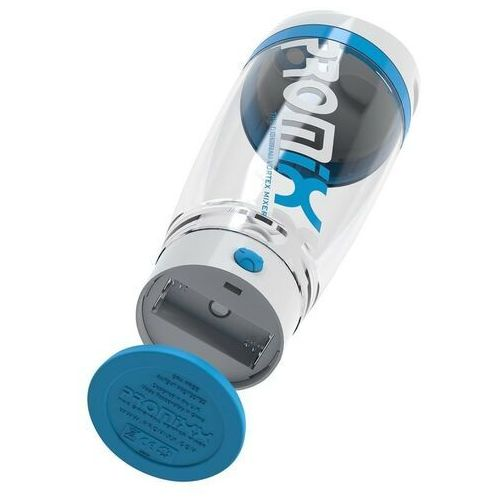 PROMiXX iX PROIXWB Protein Shaker, 600 ml, Battery powered, White/Blue