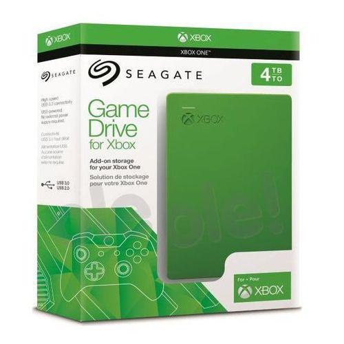 Seagate game drive 4tb dla xbox stea4000402 - produkt w magazynie - szybka wysyłka! (7636490075216)