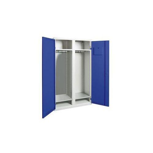 Szafa na garderobę,1 środkowa ścianka działowa, 4 półki