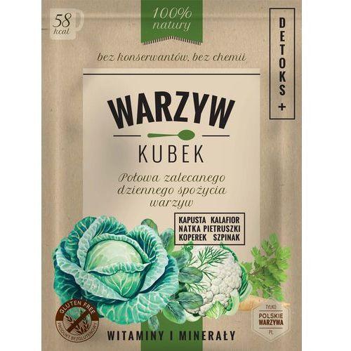Warzyw Kubek Kapusta/Kalafior/Nać/Koperek/Szpinak - DETOKS saszetka 16g.