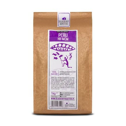 Blueberry roasters Kawa mielona peru hb mcm 1 kg - mielona \ 1kg