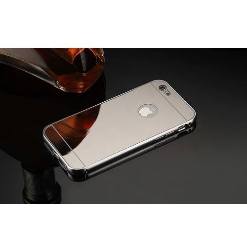 Mirror Bumper Metal Case Srebrny | Etui dla Apple iPhone 7 - Srebrny