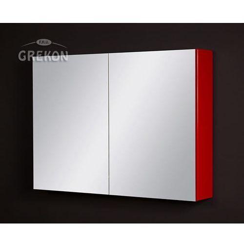 Szafka wisząca z lustrem 90x65 seria fokus cz marki Gante