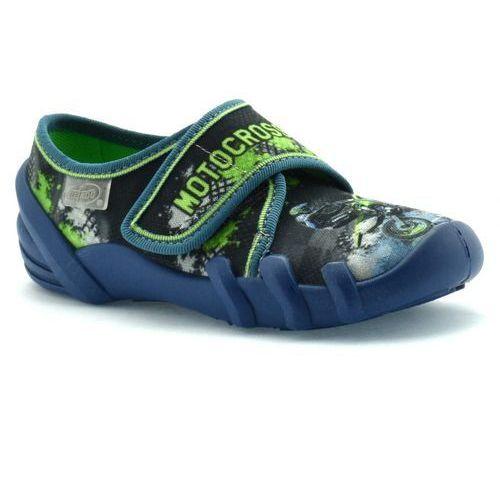 Kapcie dla dzieci Befado 273X226 Skate - Kolorowy   Granatowy