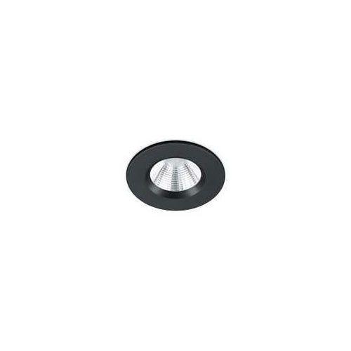 Trio zagros 650710132 oczko oprawa wpuszczana ip65 1x5,5w led 3000k czarny mat