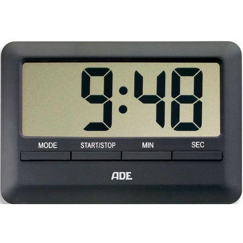 Minutnik elektroniczny z wyświetlaczem LCD - ADE czarny (AD-TD 1601) (4260336173762)