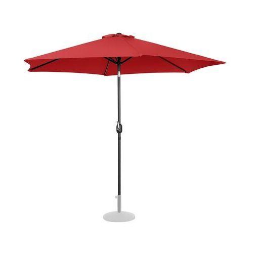 Uniprodo parasol ogrodowy - Ø300 cm - czerwony uni_umbrella_tr300re - 3 lata gwarancji