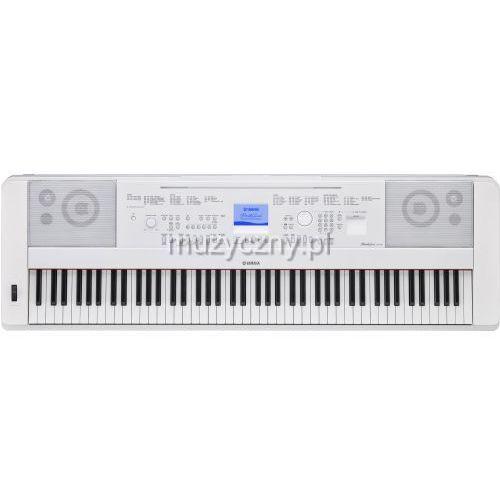 Yamaha DGX 660 WH keyboard z ważoną klawiaturą (88 klawiszy), biały z kategorii Keyboardy i syntezatory