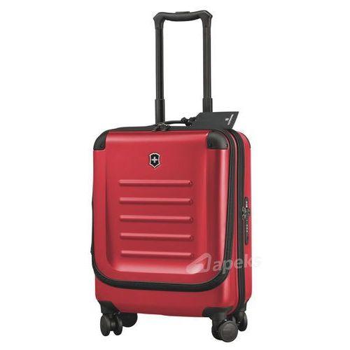Victorinox spectra™ 2.0 dual access global mała walizka kabinowa - laptop - czerwony (0674204044100)