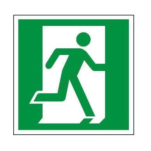 Znak Drzwi ewakuacyjne (prawe)
