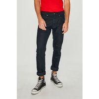 - jeansy zinc coated marki Pepe jeans