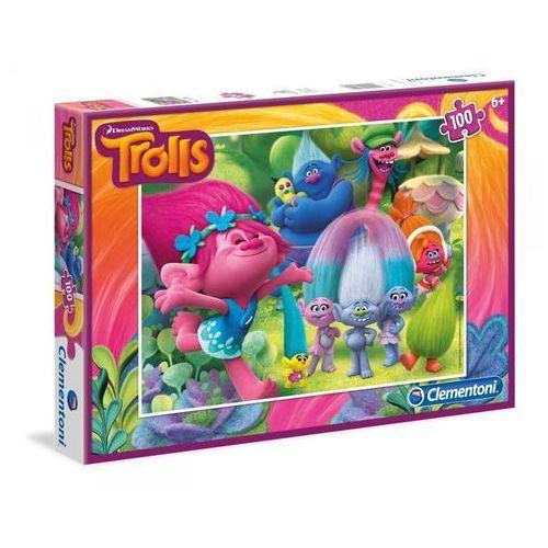 100 elementów trolls marki Clementoni