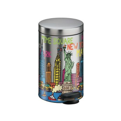 Meliconi Kosz na śmieci new line 14l skyline + zamów z dostawą jutro! (8006023240906)