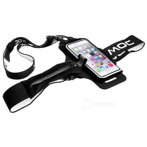 MOC Chest Plate akcesoria / szelki z rzepem do etui na smartfona / czarne - Black