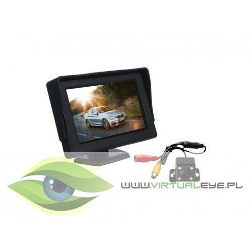 Virtualeye Zestaw kamera cofania + monitor