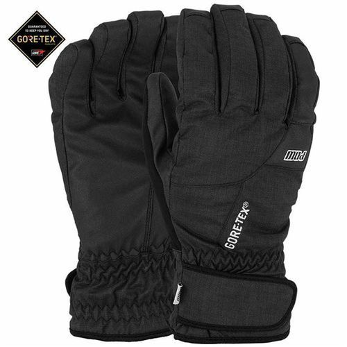 Pow Rękawice snowboardow - warner gtx short glove black (short) (bk)