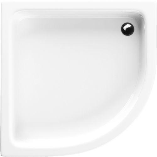grawello brodzik półokrągły 80cm r55, akrylowy 3.015 marki Schedpol
