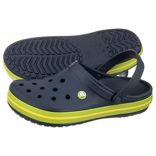 Klapki crocband navy/volt green 11016-40l (cr109-c) marki Crocs