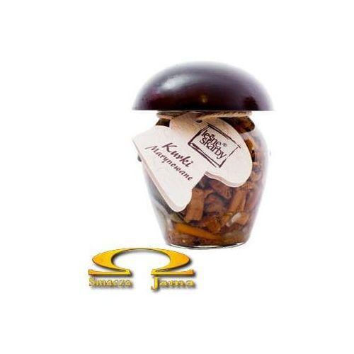 Grzyby kurki marynowane 150g marki Leśne skarby