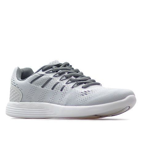 Buty sportowe sznurowane B823-7 Jasny Szary