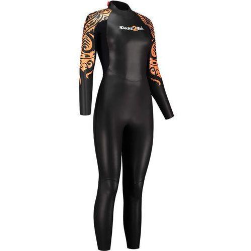 Dare2Tri To Swim Kobiety pomarańczowy/czarny FL 2018 Pianki do pływania (8718858566525)
