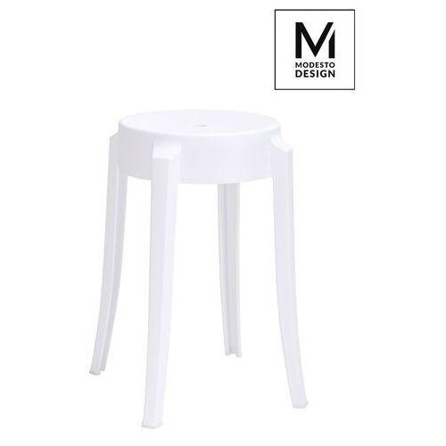 MODESTO stołek CALMAR 46 biały - polipropylen C1070.WHITE - King Home - Sprawdź kupon rabatowy w koszyku