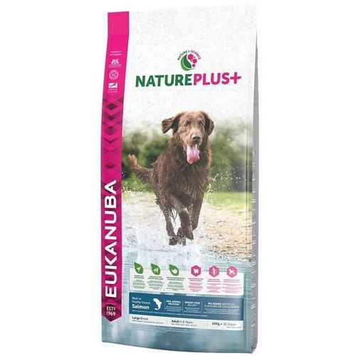 Eukanuba nature plus+ adult large breed rich łosoś 10kg